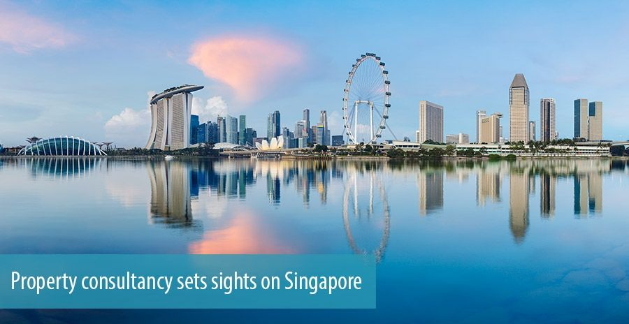 Property consultancy sets sights on Singapore