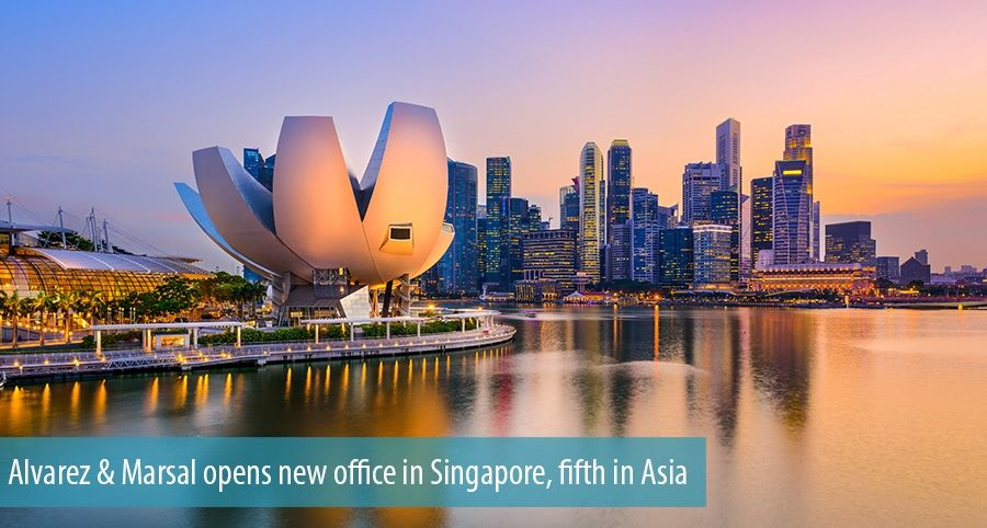 Alvarez & Marsal opens new office in Singapore, fifth in Asia