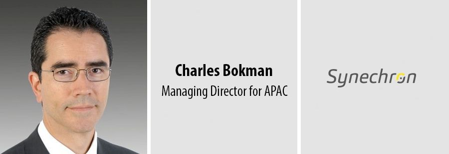 Charles Bokman, Managing Director for APAC at Synechron
