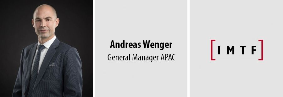 Andreas Wenger, General Manager APAC