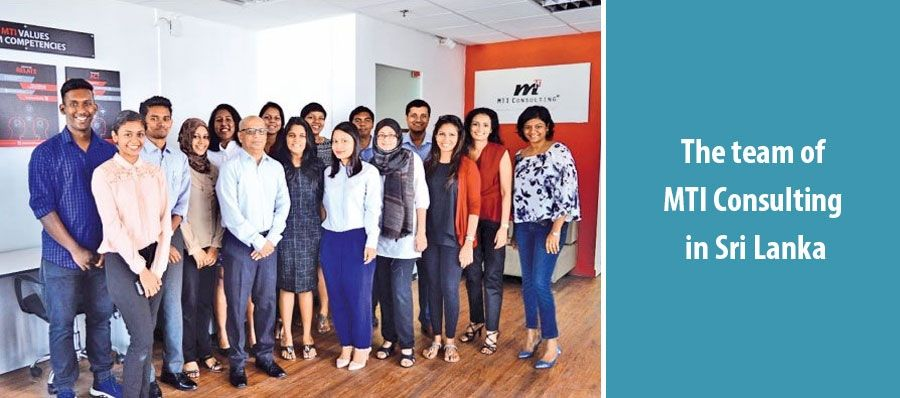 The team of MTI Consulting in Sri Lanka