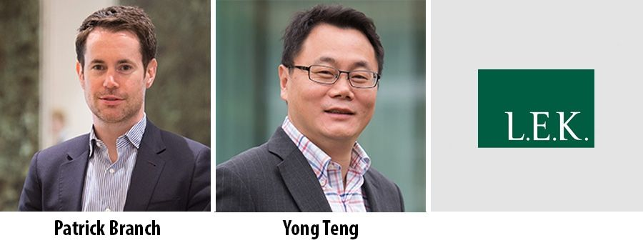 Patrick Branch and Yong Teng - Partner at LEK Consulting