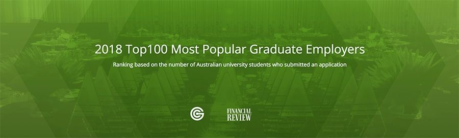 2018 Top100 Most Popular Graduate Employers