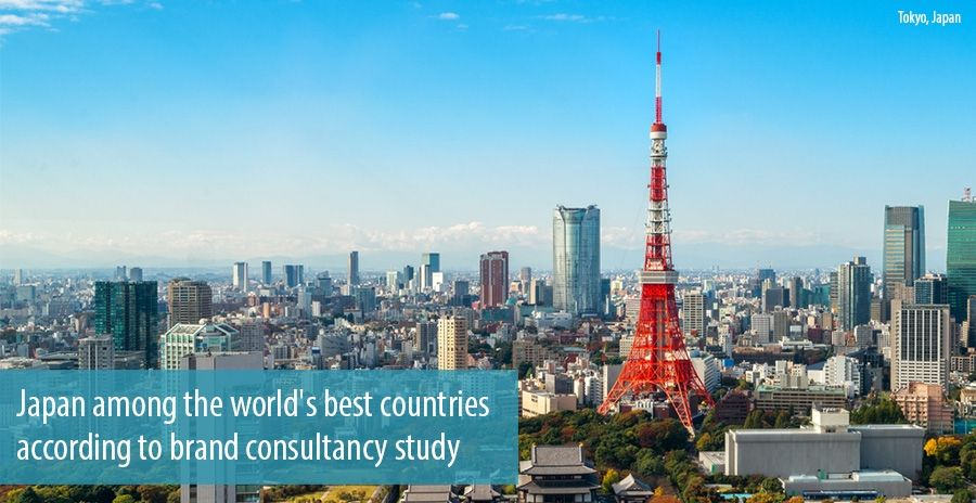 Japan among the world's best countries according to brand consultancy study