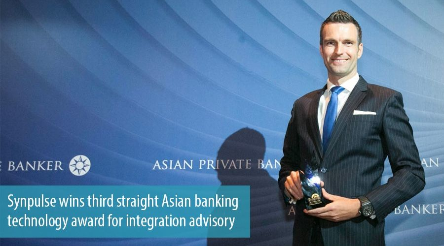 Synpulse wins third straight Asian banking technology award for integration advisory
