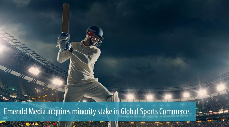 Emerald Media acquires minority stake in Global Sports Commerce