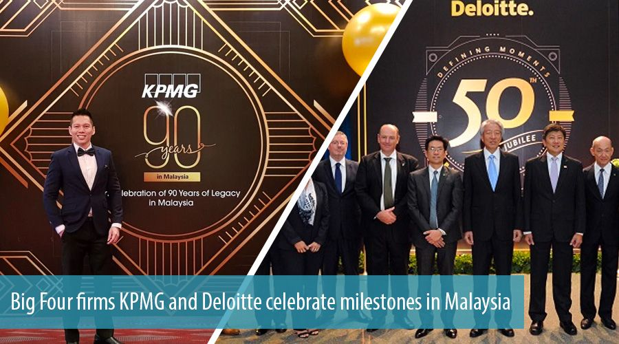Big Four firms KPMG and Deloitte celebrate milestones in Malaysia