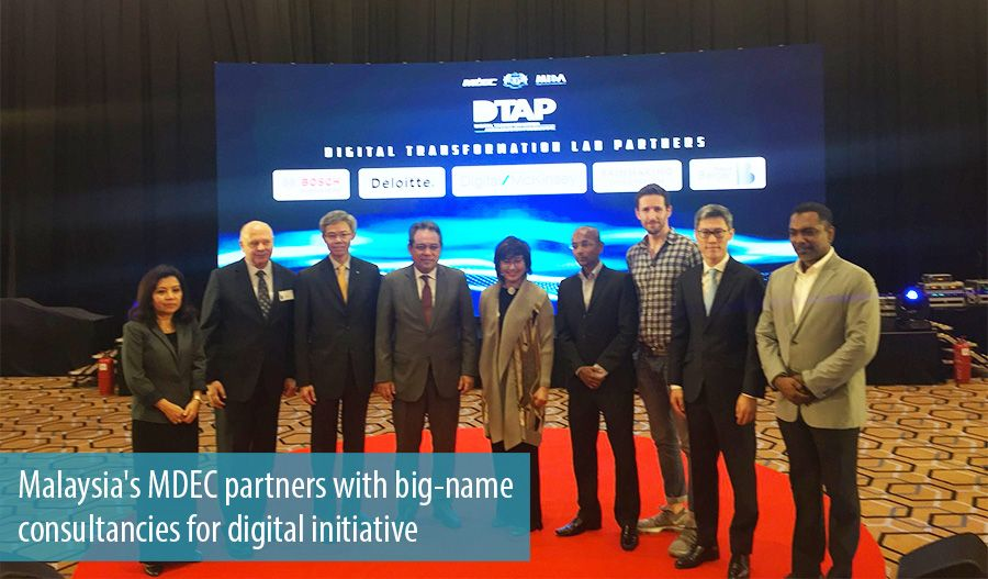 Malaysia's MDEC partners with big-name consultancies for digital initiative