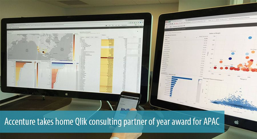 Accenture takes home Qlik consulting partner of year award for APAC