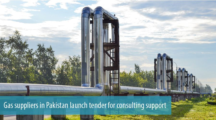 Gas suppliers in Pakistan launch tender for consulting support