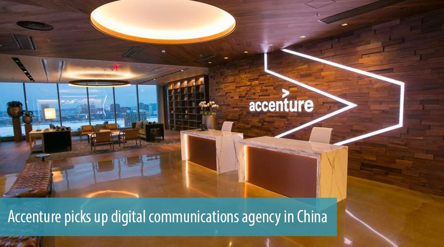 Accenture picks up digital communications agency in China