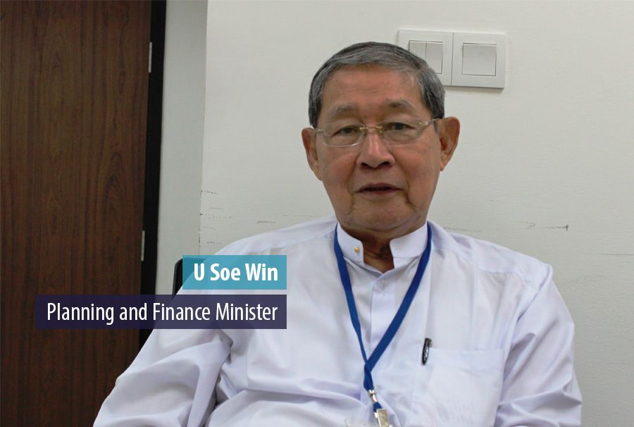 U Soe Win, Planning and Finance Minister