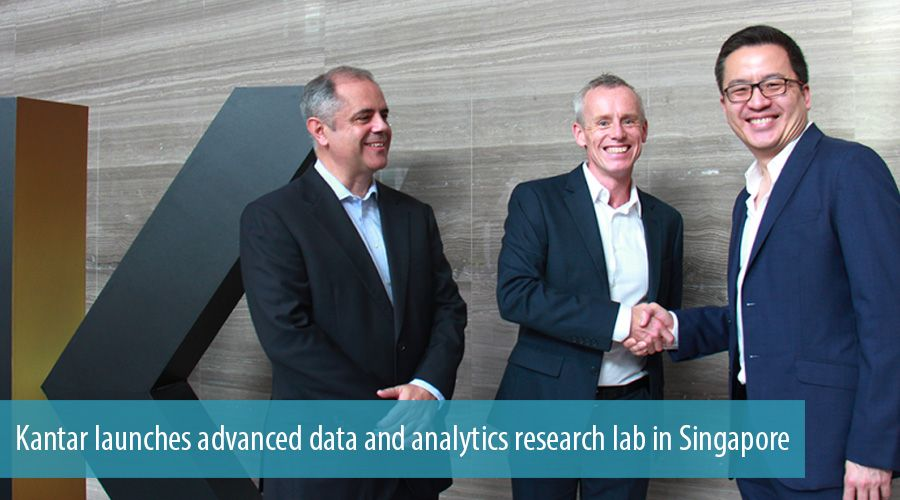 Kantar launches advanced data and analytics research lab in Singapore