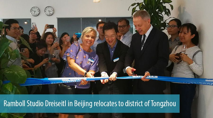 Ramboll Studio Dreiseitl in Beijing relocates to district of Tongzhou