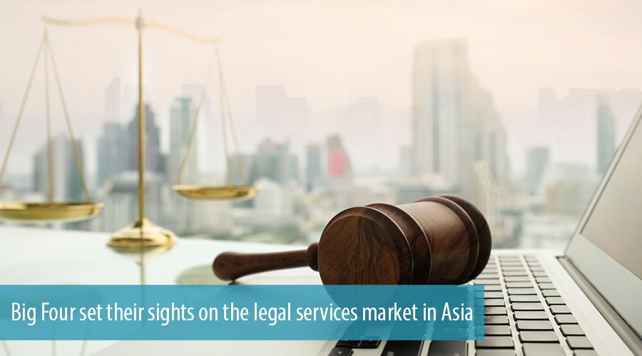 Big Four set their sights on the legal services market in Asia