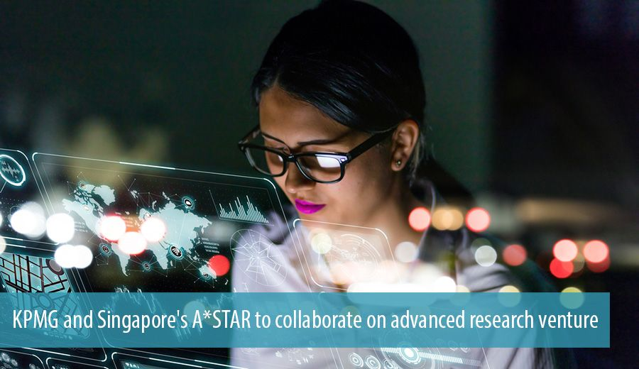 KPMG and Singapore's A*STAR to collaborate on advanced research venture