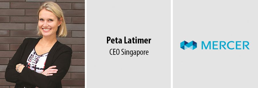 Peta Latimer, CEO at Mercer Singapore