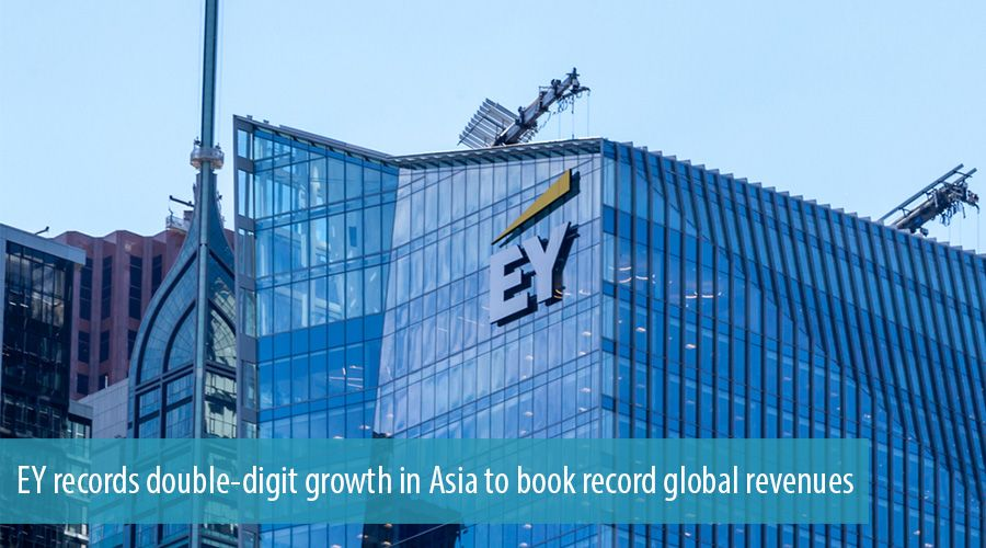EY records double-digit growth in Asia to book record global revenues