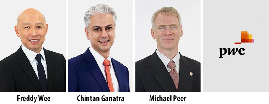Freddy Wee, Chintan Ganatra & Michael Peer join PwC Consulting as Partners