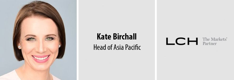 KPMG alumnus Kate Birchall joins LCH as Head of Asia Pacific