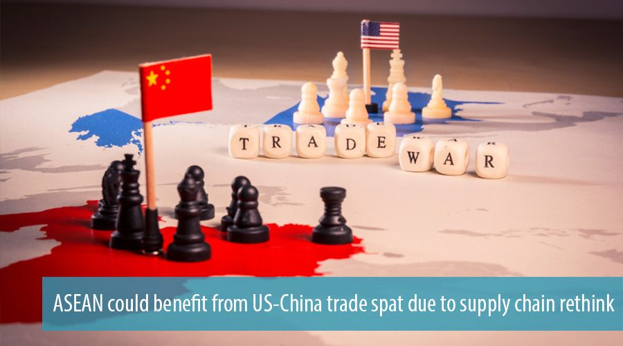 ASEAN could benefit from US-China trade spat due to supply chain rethink