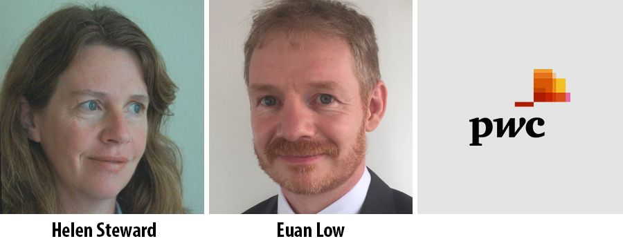Helen Steward and Euan Low - PwC