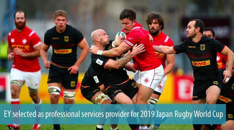 EY selected as professional services provider for 2019 Japan Rugby World Cup