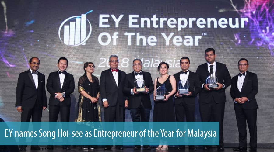 EY names Song Hoi-see as Entrepreneur of the Year for Malaysia