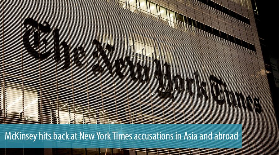 McKinsey hits back at New York Times accusations in Asia and abroad