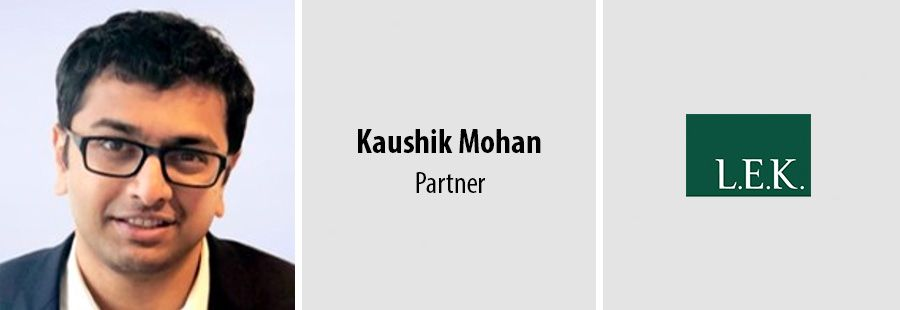 L.E.K. adds Singapore-based education specialist Kaushik Mohan to partnership