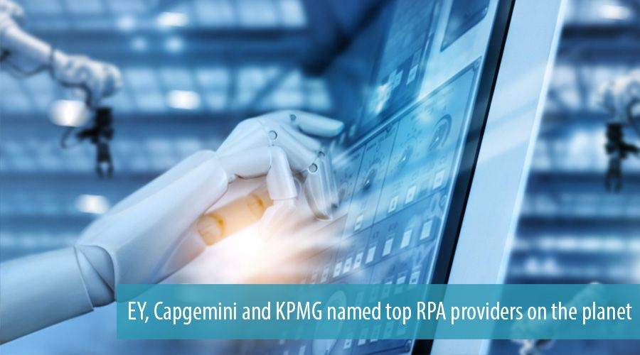 EY, Capgemini and KPMG named top RPA providers on the planet