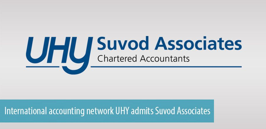 International accounting network UHY admits Suvod Associates
