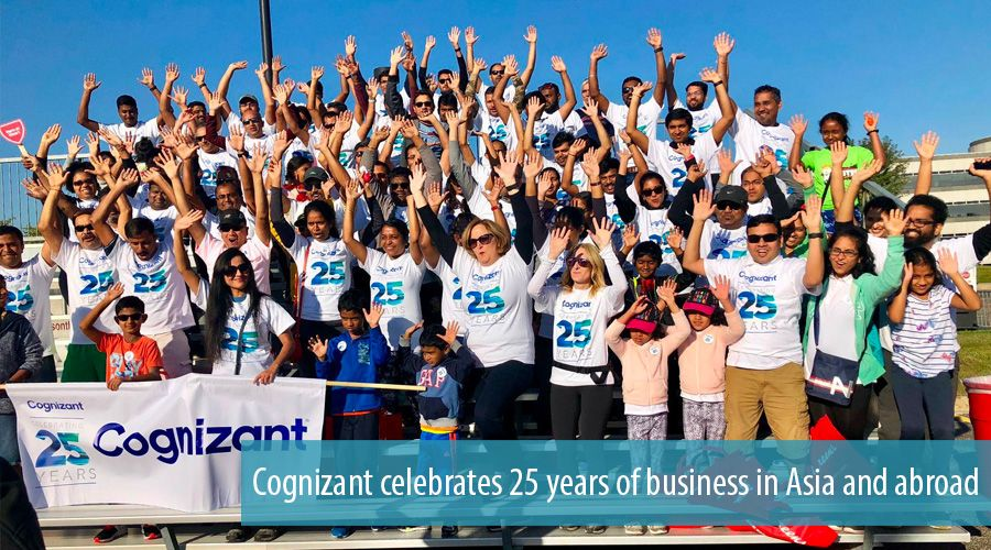 Cognizant celebrates 25 years of business in Asia and abroad