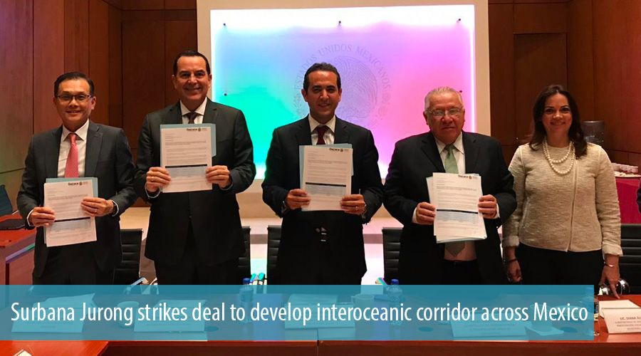 Surbana Jurong strikes deal to develop interoceanic corridor across Mexico