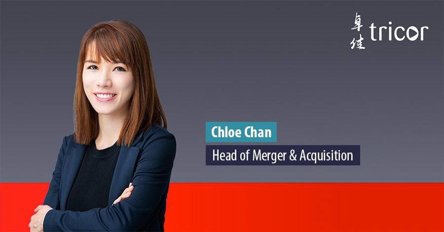 Chloe Chan - Head of Merger & Acquisition at Tricor