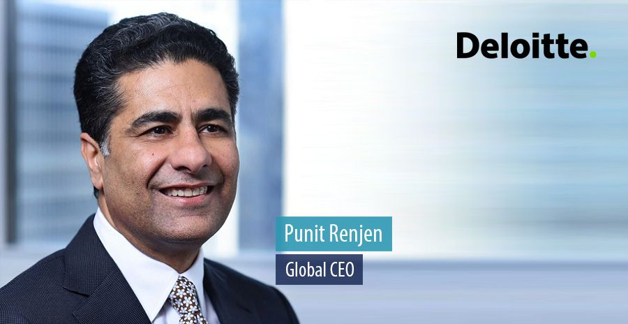 Punit Renjen, Global CEO of Deloitte