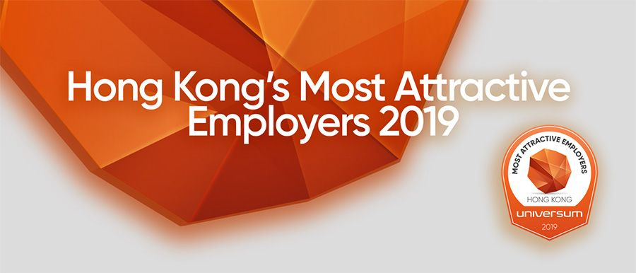 Hong Kong's Most Attractive Employers 2019