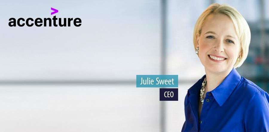 Julie Sweet, CEO of Accenture