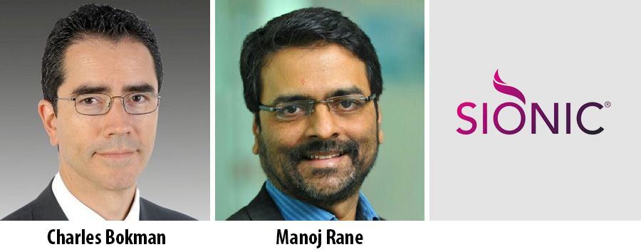 Charles Bokman and Manoj Rane - Partner at Sionic