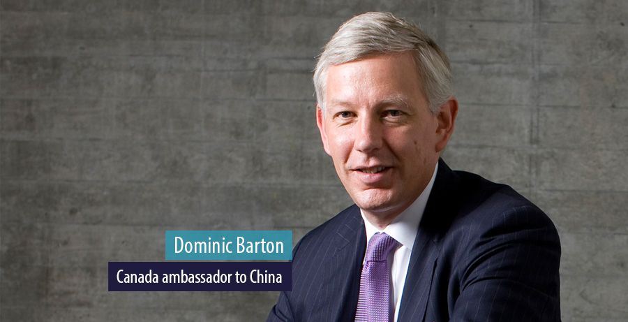 Former McKinsey boss tapped as Canadian ambassador to China