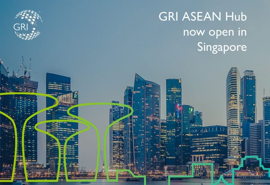 GRI ASEAN HUB is open in Singapore