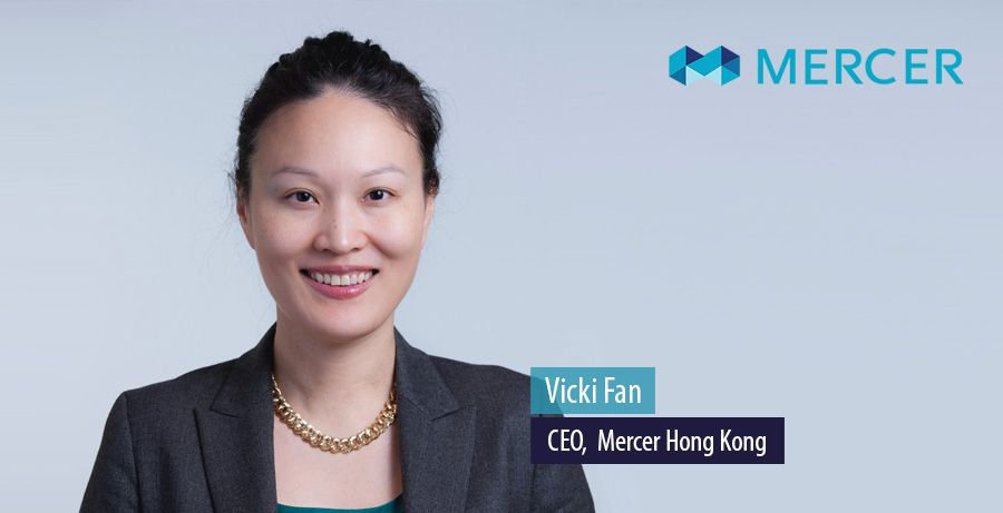 Vicki Fan, CEO at Mercer Hong Kong