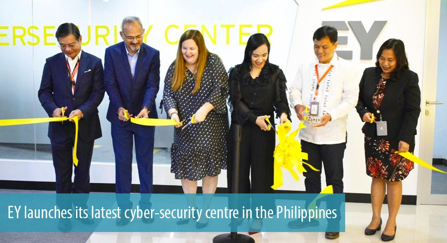 EY launches its latest cyber-security centre in the Philippines