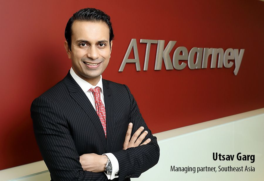 Utsav Garg, Managing partner Southeast Asia at A.T. Kearney