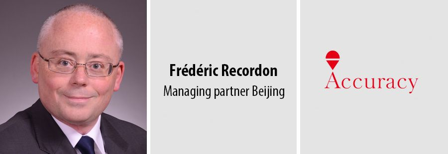 Frederic Recordon, Managing partner Beijing at Accuracy