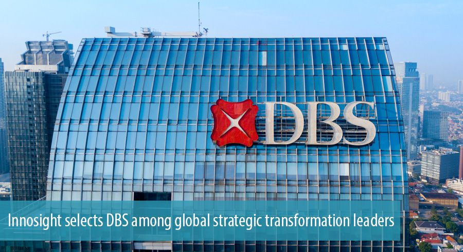 Innosight selects DBS among global strategic transformation leaders