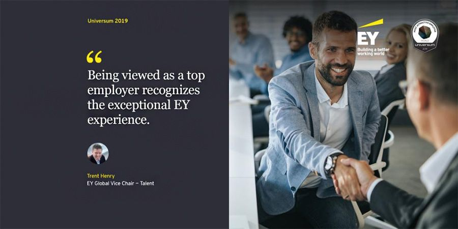 EY leads consultancies on Universum most attractive employers list