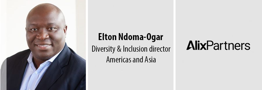 Elton Ndoma-Ogar, Diversity & Inclusion director Americas and Asia at AlixPartners