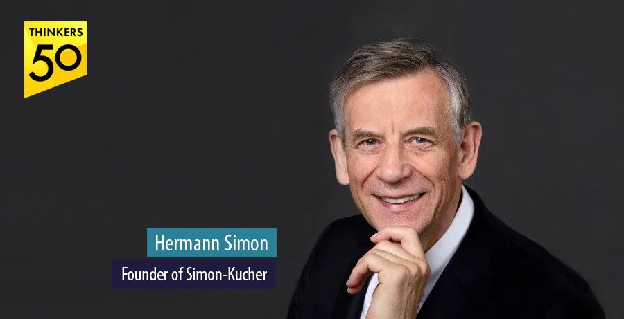 Simon-Kucher founder Hermann Simon among Thinkers50 hall of fame inductees