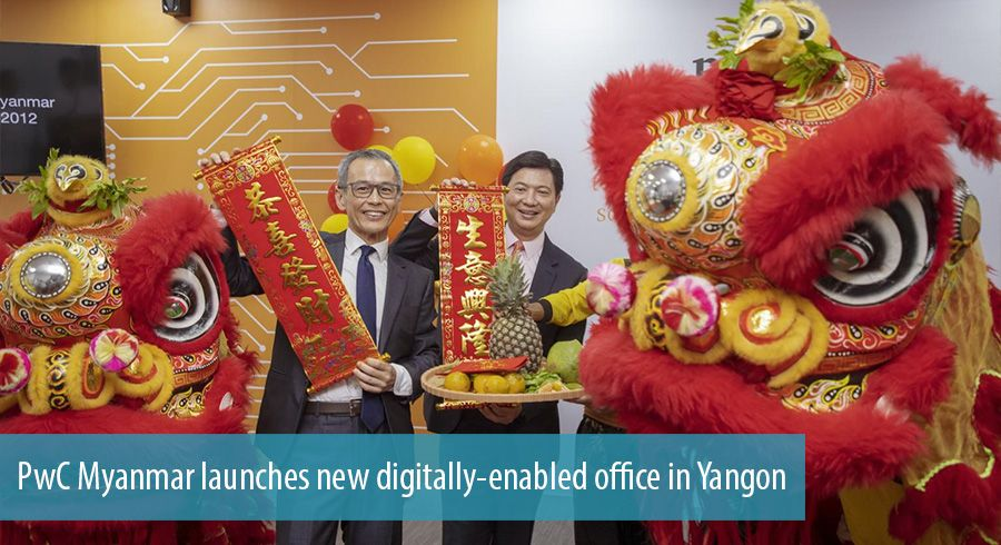 PwC Myanmar launches new digitally-enabled office in Yangon